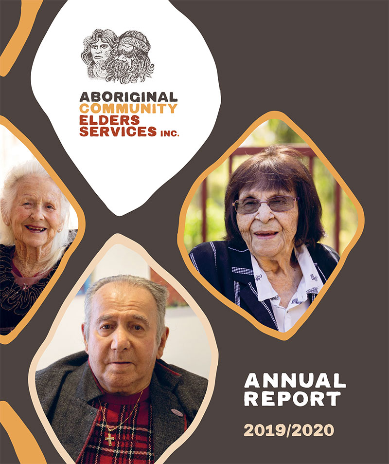 ACES annual report 2019-2020 cover